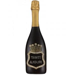 Bottiglia Di Prosecco Extra Dry 0.75 ML. Personalizzata Tanti Auguri PS 27267