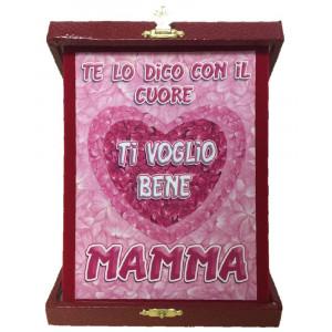 Targa commemorativa Festa Della Mamma Ti Voglio Bene PS 05895 pelusciamo store