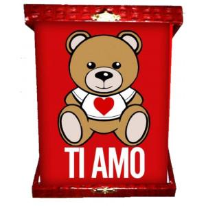 Targa orsetto teddy love ti amo idea regalo per san valentino 04963 pelusciamo store