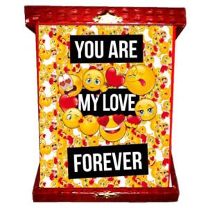 Targa smile you are my love forever idea regalo san valentino 04969 pelusciamo store