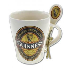Tazza Colazione Birra Guinness con cucchiaio PS 14421 Mug