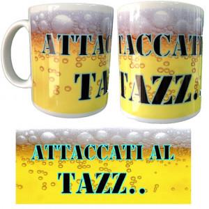 Tazza In Ceramica Attaccati Al Tazz... Tazze Simpatiche Personalizzate PS 09370-02