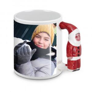 Tazza In Ceramica Babbo Natale Personalizzabile Foto Dediche PS 09368 Tazze Personalizzata