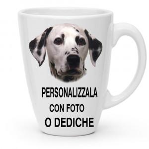 Tazza Conica In Ceramica 310 ml Personalizzabile Foto Dediche PS 11481 Tazze Personalizzate