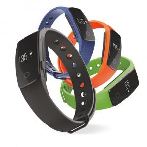 Techmade VD-TM-FIT-BK Bracciale Fitness Cardiofrequenzimetro PS 06543 pelusciamo store