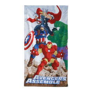 Telo mare Marvel Avengers 70x140 cm accessori mare piscina *01253 pelusciamo store