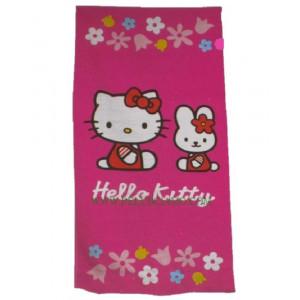Telo Mare Hello Kitty, asciugamano Piscina 75x150 cm | pelusciamo.com