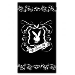 Telo Mare Playboy 80x150 cm in cotone, beach towel | pelusciamo.com