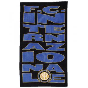 Telo mare spugna Inter 75x150 prodotto ufficiale F.C.Internazionale *19630 pelusciamo store
