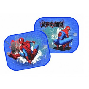 Accessori auto Disney Tendina parasole Spiderman 2 pz 36x44 cm. *18095