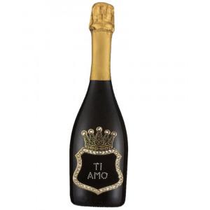 Bottiglia Di Prosecco Extra Dry 0.75 ML. Personalizzata Ti Amo PS 27265