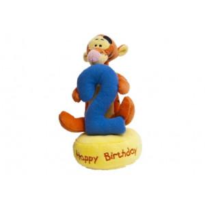 Peluche Disney Winnie the Pooh Tigro N° 2 Buon Compleanno | Pelusciamo.com