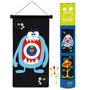 Tiro A Segno A Freccette Magnetiche Darts Monster PS 05815 Prodotto Ufficiale pelusciamo store