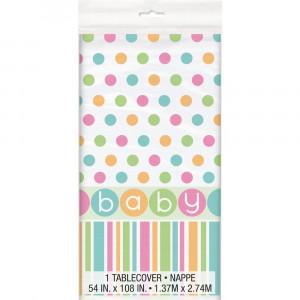 Tovaglia in Plastica , Baby Shower Nascita | Pelusciamo.com