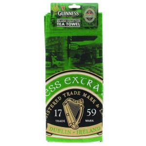 Tovaglietta strofinaccio tea green Guinness Beer *03052 pelusciamo.com