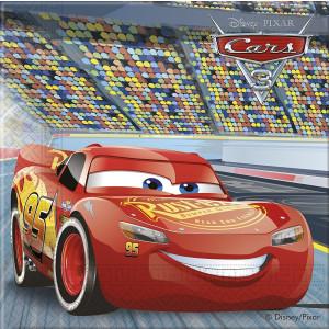 Confezione 20 Tovaglioli Carta Cars  Disney | pelusciamo.com