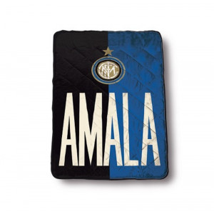 Trapunta singola Fc Internazionale Amala 160x260 cm 1 piazza inter pelusciamo