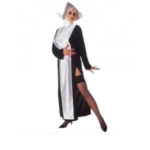Costume di carnevale travestimento Donna Suora Monaca  *19412 Pelusciamo store