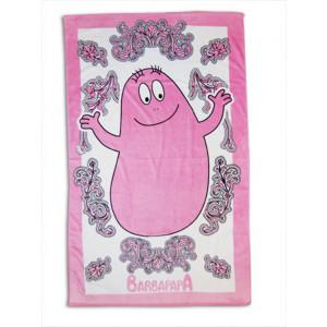 Telo Mare Barbapapà 60x120 cm Asciugamano Piscina  in cotone | pelusciamo.com
