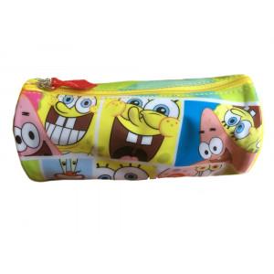 Trousse Astuccio porta trucchi Spongebob 16 cm azzurro | Pelusciamo.com