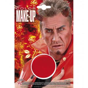 Make Up , Trucco Fondotinta Rosso Diavolo