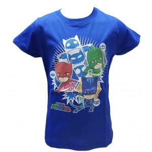 T-shirt Super Pigiamini Pjmasks Maglietta Bimbo Pj Masks | Pelusciamo.com