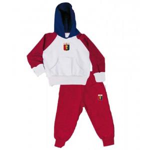 Tuta con cappuccio bambino Genoa CFC calcio ufficiale *23248