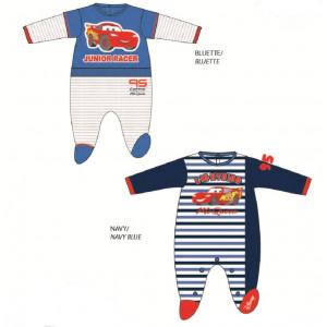 Tutina con piedino neonato in ciniglia Disney cars 04694 modelli assortiti pelusciamo store