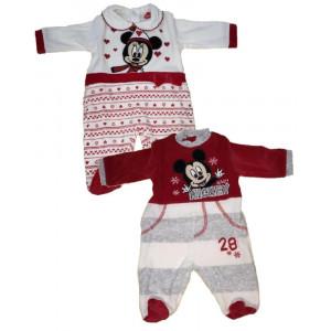 Tutina Neonato Ciniglia topolino e minnie Abbigliamento Ufficiale Disney *22584 | pelusciamo.com