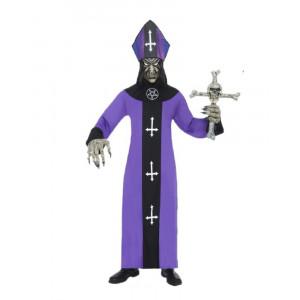 Costume Halloween Adulto Sacerdote Vescovo Maligno chiesa Smiffys *11925