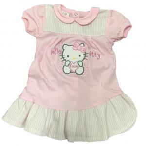 Vestina Neonata Hello Kitty, Vestitino Estivo Bimba | pelusciamo.com