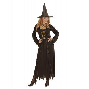 Costume Halloween Donna, Vestito Strega Nero PS 22011 Pelusciamo Store Marchirolo