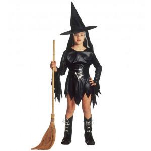 Vestito Da Strega Morgana Halloween Travestimento Bambina PS 25692 Pelusciamo Store Marchirolo