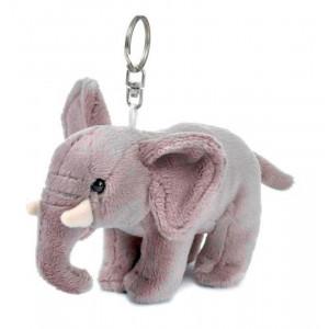 Wwf 15205024 - Peluche portachiavi, Elefante, 10 cm