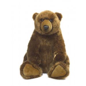 Peluche Orso Grizzly 47 cm peluches WWF PS 07204 pelusciamo store