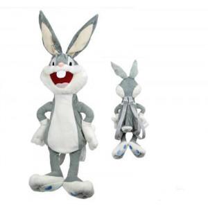 Zainetto in peluche Bugs Bunny 50 cm Peluche Looney Tunes *13197