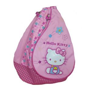 Zaino a tracolla rosa Hello Kitty con ricami | Pelusciamo.com