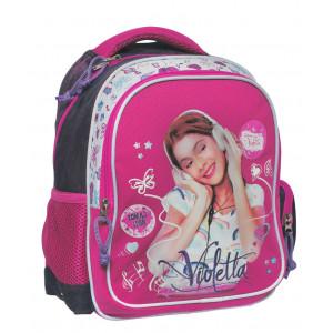 Zaino Scuola Disney serie Violetta Americano rosa   Pelusciamo.com