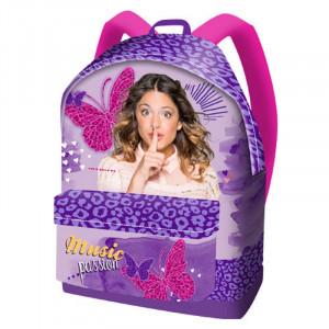Zaino Americano Scuola Violetta Music Disney   Pelusciamo.com