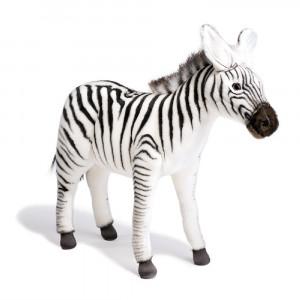 Peluche Zebra 41 Cm Peluches Realistici Hansa | Pelusciamo.com