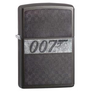 Accendino Zippo 007 Iced James Bonda Benzina | Pelusciamo.com