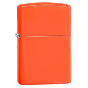 Zippo Accendino Antivento Arancio Fluo | pelusciamo.com