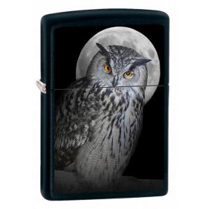 Accendino Zippo Gufo Con Luna PS 10638 Owl Moon pelusciamo store