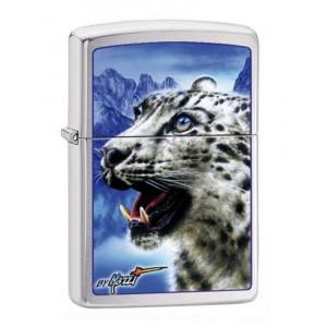 Accendino Zippo Leopardo In Ottone a Benzina  PS 16622 Leopard   Pelusciamo.com