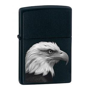 Accendino Zippo Eagle Aquila su sfondo nero PS 06156 pelusciamo store
