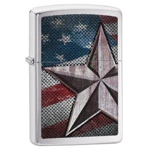 Accendino Zippo Star Usa American Flag 28653 PS 06193 pelusciamo store