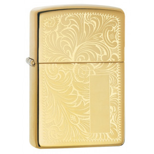 Accendino Zippo Venetian Veneziano Brass PS 06196 pelusciamo store