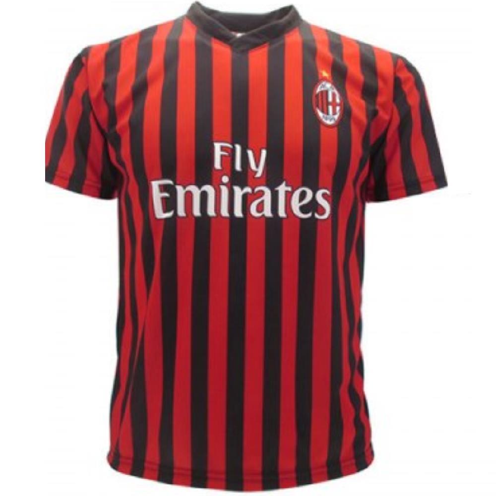 Abbigliamento specifico Maglia Milan Ufficiale Rosa Giocatori 2019 ...