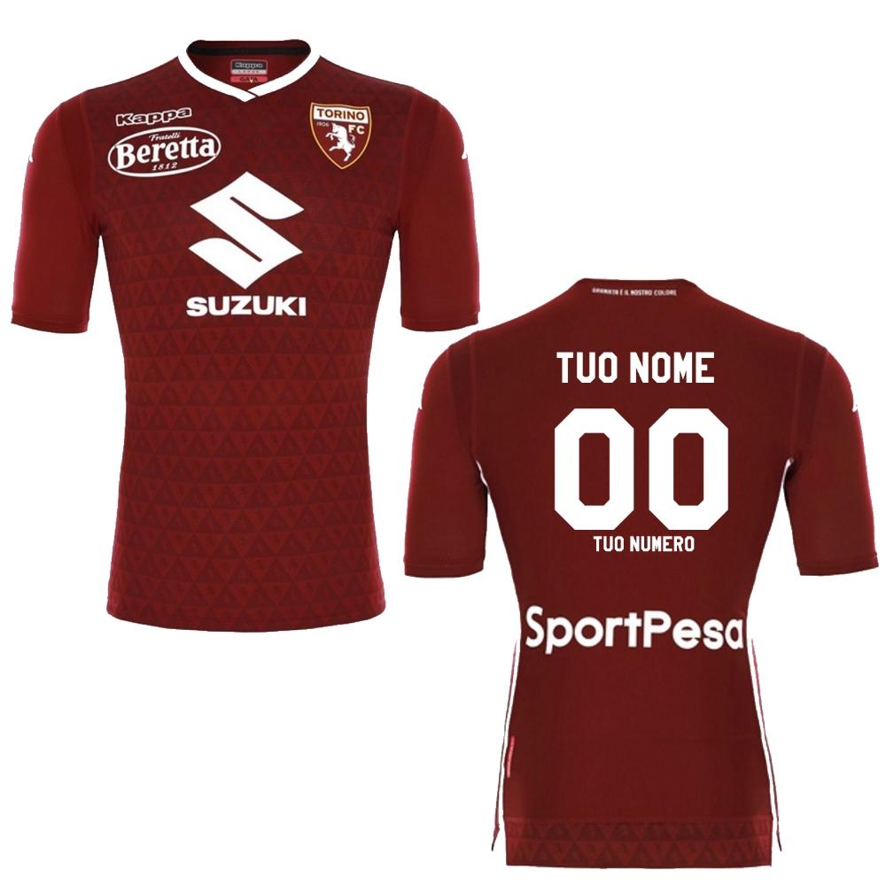 Maglia Calcio Torino Fc Adulto Kombat Gara Personalizzabile   PS 22419  Ufficial