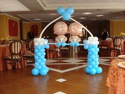 palloncini per feste battesimo